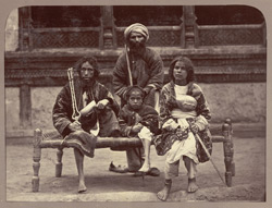 Group of beggars [Kabul].